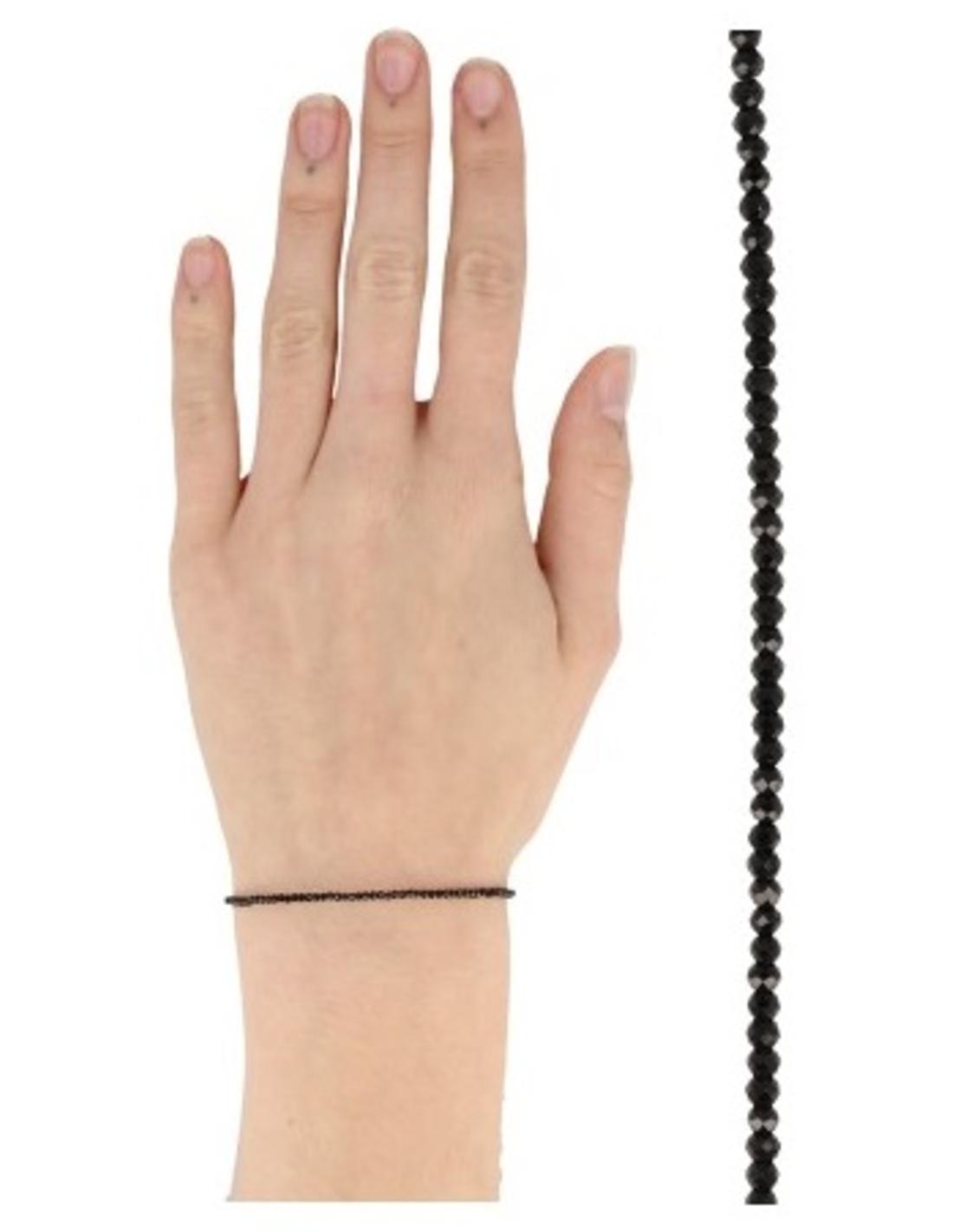 Spinel zwart summer vibes armband
