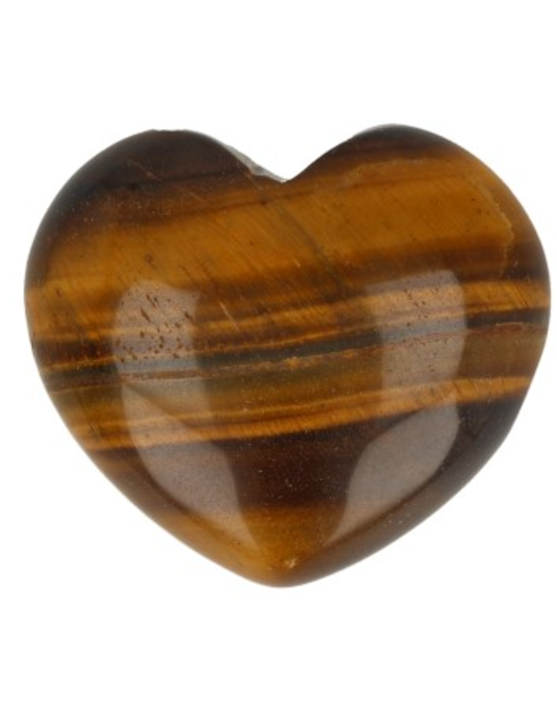 Tijgeroog edelsteen hart 45 mm