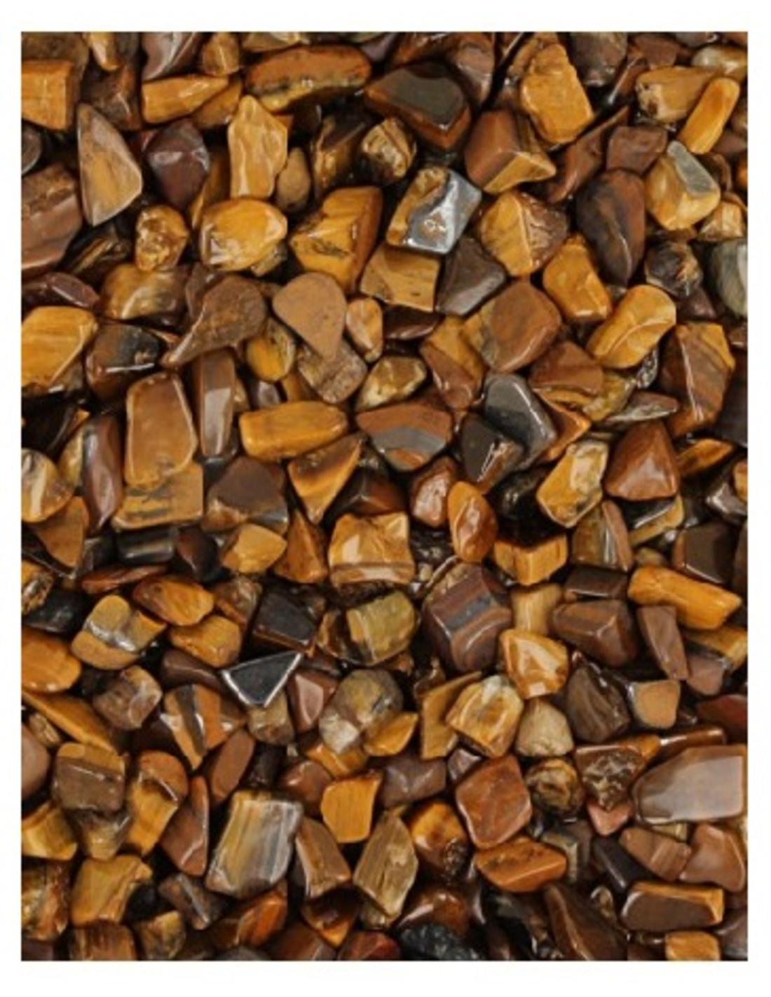 Tijgeroog trommelstenen (mt1), p/kg