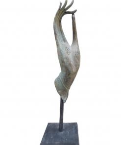 Bronzen hand beeld nr.8