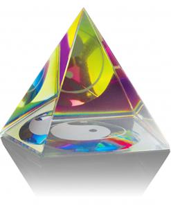 Feng shui piramide 50 mm, yin yang