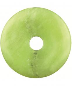 Jade olijf donut 40 mm