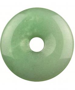 Jade Serpentijn donut 40 mm