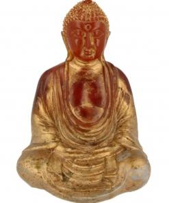 Japanse boeddha geel