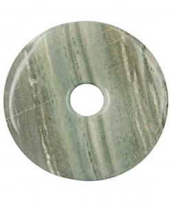 Jaspis groen donut 40 mm