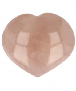Roze kwarts edelsteen hart nr.54