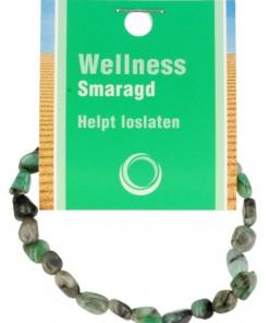 Smaragd splitarmband + kaart